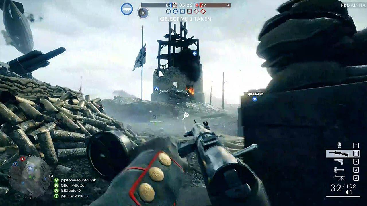 Multijoueur Battlefield 1