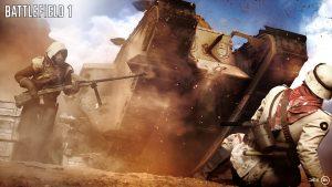 Les véhicules dans Battlefield 1