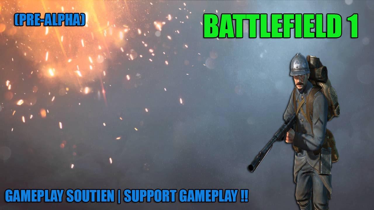 Classe soutien, battlefield1